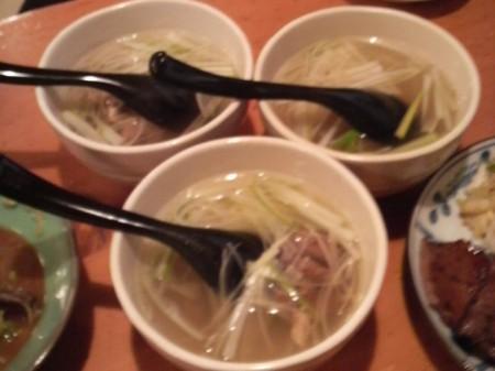 牛煮込みスープ